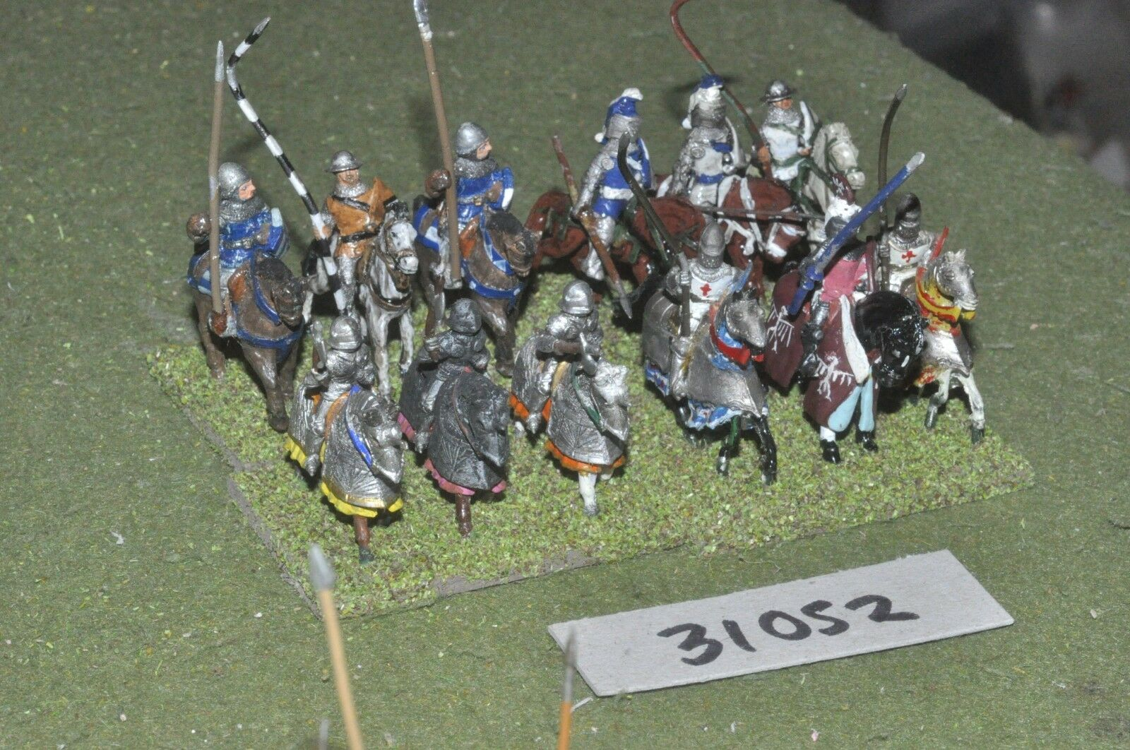25mm classical   english - knights 12 figures - cav (31052)