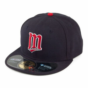 d910c895efb Minnesota Twins New Era 59FIFTY Alternate On Field Fitted Hat Cap ...