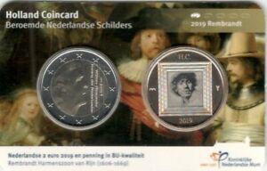HOLLAND-COIN-FAIR-2019-COINCARD-SERIE-BEROEMDE-SCHILDERS-DEEL-1-034-REMBRANDT-034