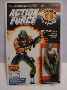 Action Force / Gi Joe Copperhead Moc Mib cardé offre personnalisée autocollant