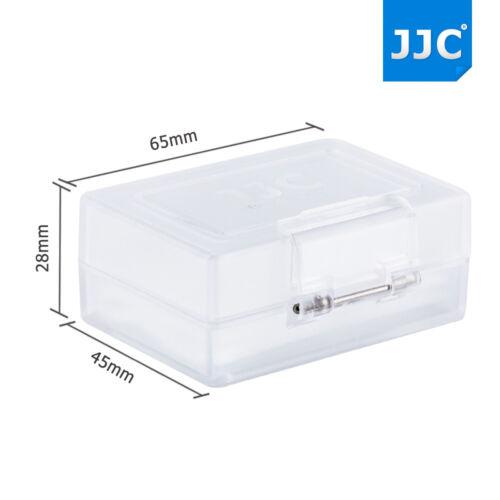 JJC resistente al agua Funda protectora dura de la batería para cámara Canon Nikon Sony