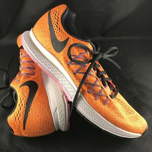 Nike Air Zoom Pegasus 32 749344-805 Orange Pink Black 8.5 US, 40 ...