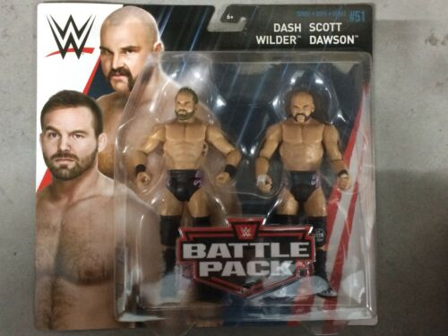 WWE Mattel Revival Dash Wilder and Scott Dawson Battle Packs 51 Basic Figures