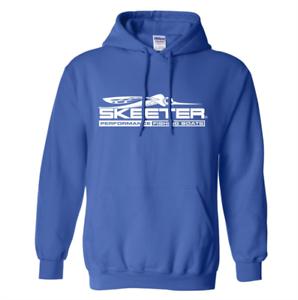 Skeeter Blue Hoodie Large