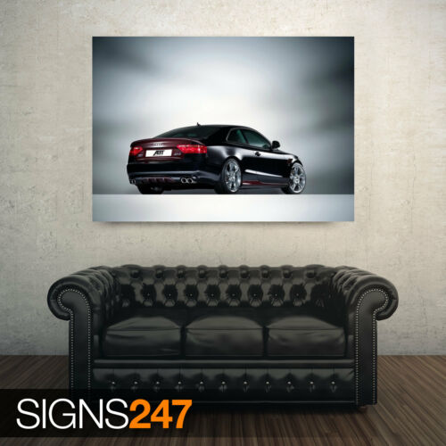 AC845 Voiture Poster-Photo Poster print ART A0 à A4 ABT Audi AS5 voiture 2