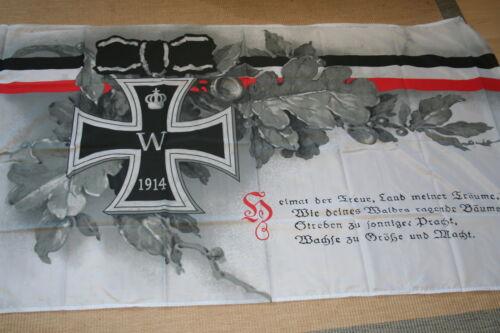 Fahne Flagge Eisernes Kreuz Kaiserreich 1914 Heimat der Treue 150 x 90