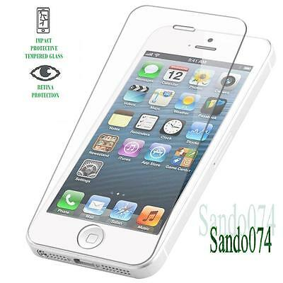 Genuine Tempered Glass Film Screen Protector for Apple iPhone 5-5C-5S