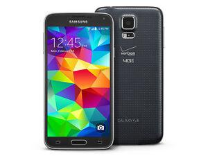 New-Overstock-Verizon-Samsung-Galaxy-S5-SM-G900V-Charcoal-Black-Smartphone