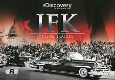 JFK CONSPIRACIES - 6 DVD BOX SET - DID THE MOB KILL JFK? AND MORE