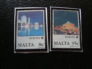 Malta-Briefmarke-Yvert-Und-Tellier-N-747-748-N-A22-Briefmarke-Malta