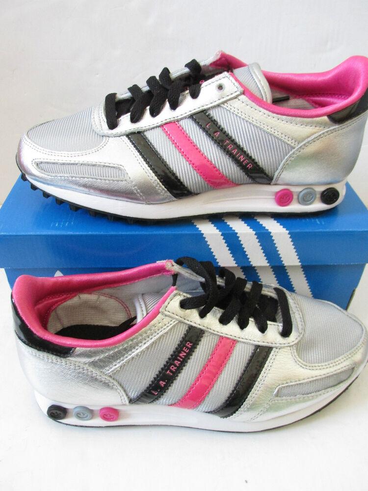 Humble Adidas Originals La Trainer Trefoil G64201 Entrainement Baskets Chaussures Femme
