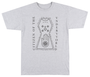 BLACK SCALE NEW YORK T-SHIRT WHITE MENS BLVCK SCVLE OCCULT STREETWEAR TEE