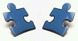 Autism-Speaks-Puzzle-Piece-Lapel-Pins-Military-Clasp-Pkg-of-2-Free-Shipping