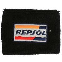 Repsol Honda Brake Reservoir Cover Oil Cup Cover Gp Sock Cbr 600 1000 Rr Black