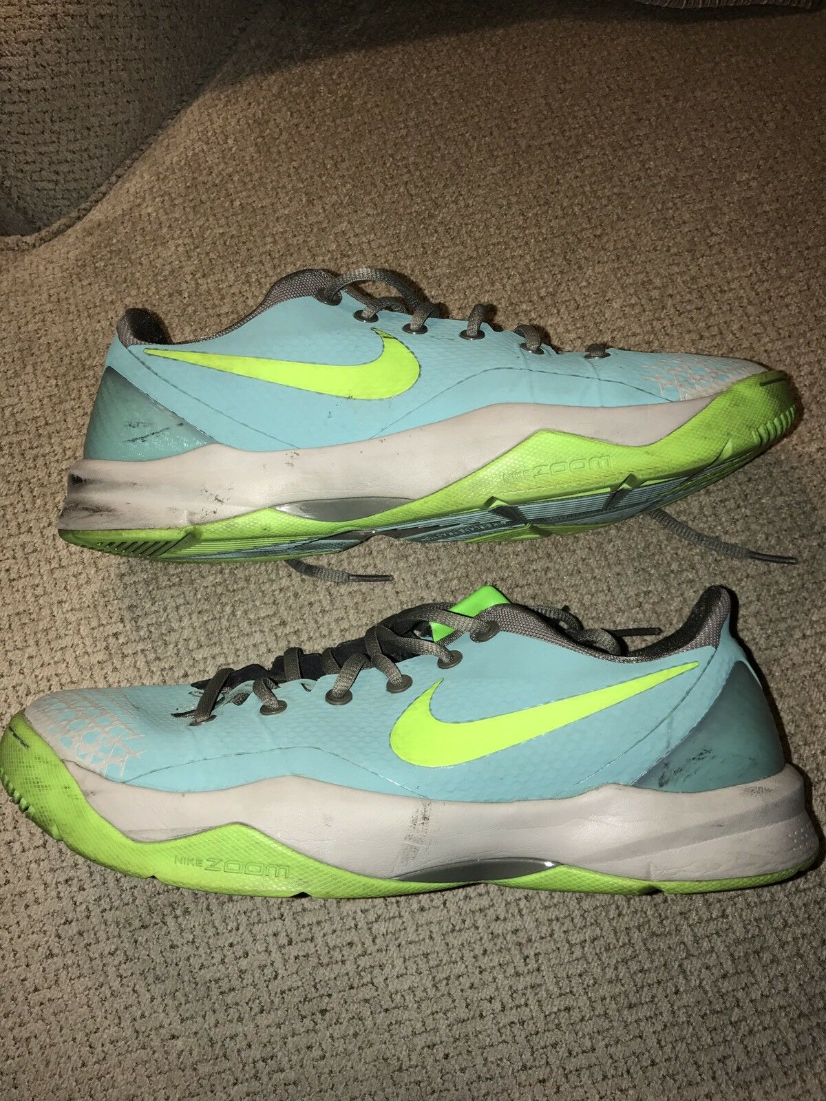 reputable site 3e0a0 39f49 ... 2013 Nike Zoom Kobe Venomenon 4 men men men sz 12 jade green 635578 300  basketball ...