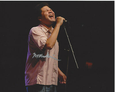 Methodical Singer Mike Mattison Of The Tedeschi Trucks Band Hand Signed 8x10 Photo W/coa Matching In Colour Photographs