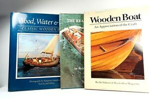 3 Books About Wooden Boatswood Water Lightreal Runabouts