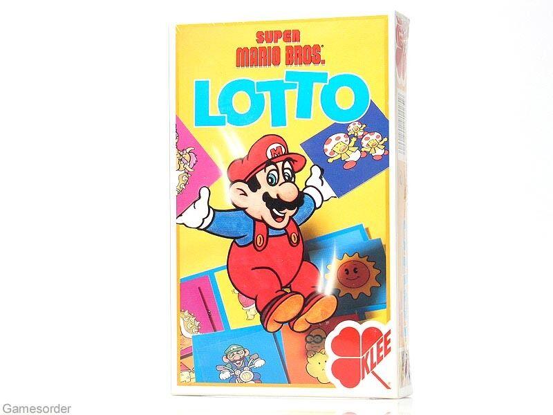SUPER MARIO BROS. - LOTTO -  NEU  (Gesellschaftsspiel / Legespiel / Kartenspiel)