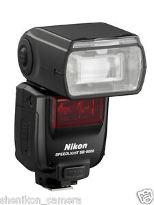 100% Neuf Inutilisé Nikon Sb-5000 Af Speedlight I-ttl Flash Light Radio Sans Fil-afficher Le Titre D'origine