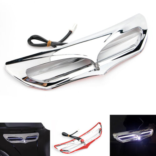LED Lighted Fairing Intake Trim Vent Accent for 2014-2017 Harley Electra Glide