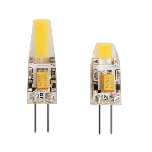 5er LED Lampe G4 3W 6W Watt AC DC 12V COB Licht Blub Dimmbar Birne Leuchtmittel
