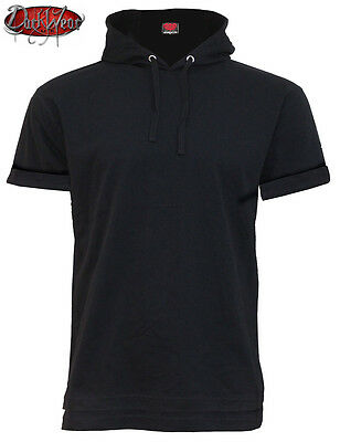 Fine Cotton T-Shirt Hoody Black Spiral Union Wrath