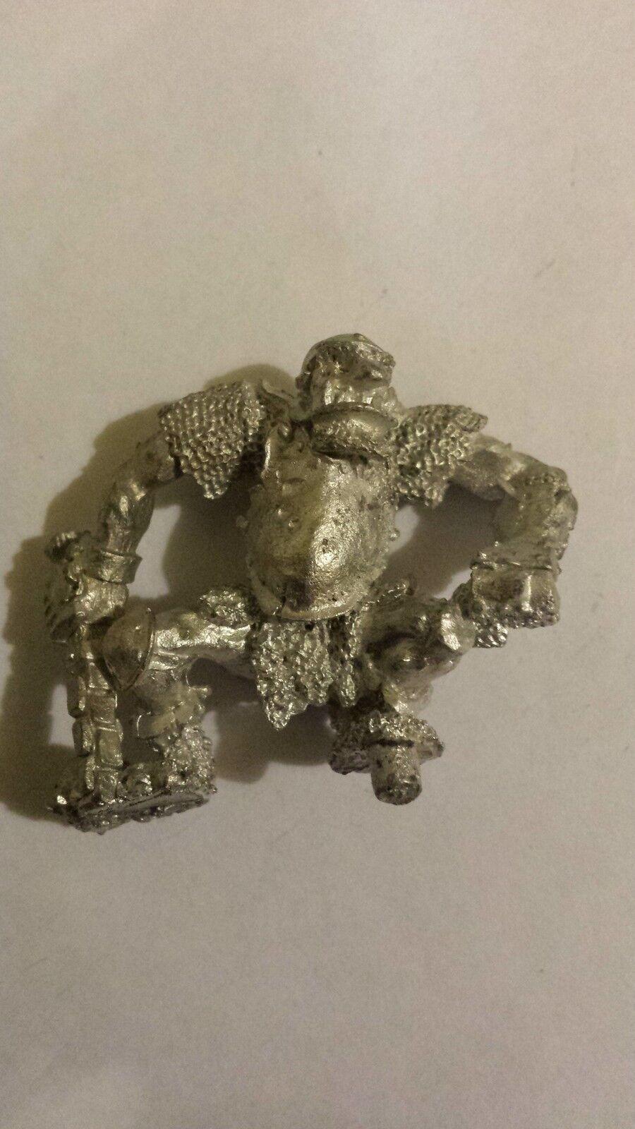 Warhammer Ogre -  Metal - Stripped - OOP - Rare