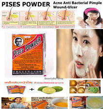 Pises Powder Face Magic Herbal Treatment Anti Bacterial Acne Pores & Wounds