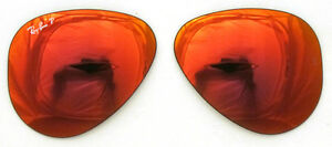 Red Ray Rosso Ricambio 55 Polarized Lenti Mirror Specchiato Ban 4d Lenses 8041 CYvxn5wq