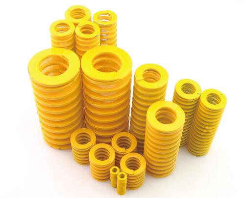 2Stk Braun Feder Druckfedern Außendurchmesser=18mm Länge=25-125mm Federstahl