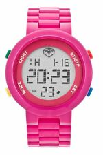 Lego Digifigure 9007422 Digital Display Pink Plastic Women's Watch