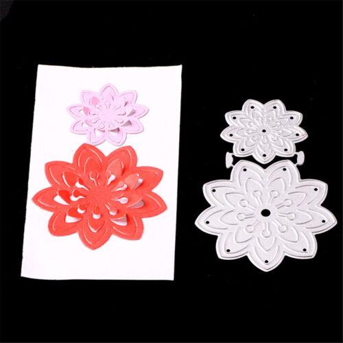 Flowers Pattern Framed DIY Embossing Metal Cutting Dies Paper Cards Cra MW