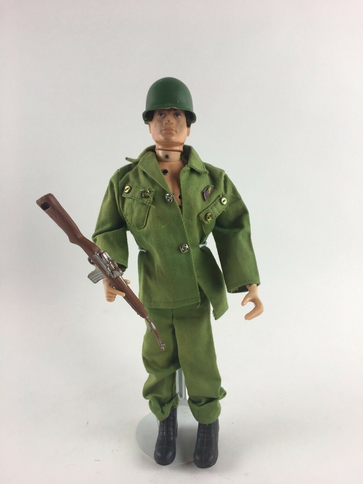 1964 GI Joe Hasbro Adventure Team Talking Man of Action No Talking Mechanism Vtg