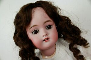 Vintage-21-034-bisque-de-collection-poupee-Allemagne-Fine-Antique-neich-E-160