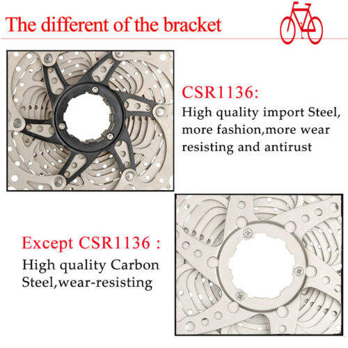 BOLANY 8-11 Speed Road Bike Sprocket 11-25//28//32//36T Cassette KMC Steel Chains