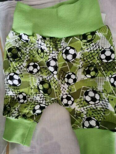 Gr ♥Lange Pumphose♥ 110 Fußball grün für Junge handmade