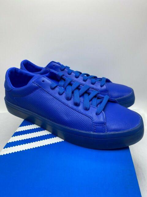 adidas Court Vantage Adicolor Blue S80252 Men's Sz 9