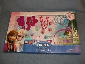 DISNEY-FROZEN-25-PIECE-ACCESSORY-SET-BY-HER-ACCESSORIES-NEW-IN-PACKAGE