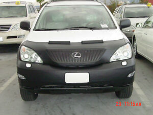 Colgan Custom Fit Front End Mask for Select Lexus RX330//RX350 Models Carbon Fiber Black