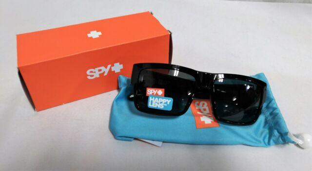 Happy Grey Green Polarized Sunglasses NEW Spy Optics Dirk 672052038864 Black