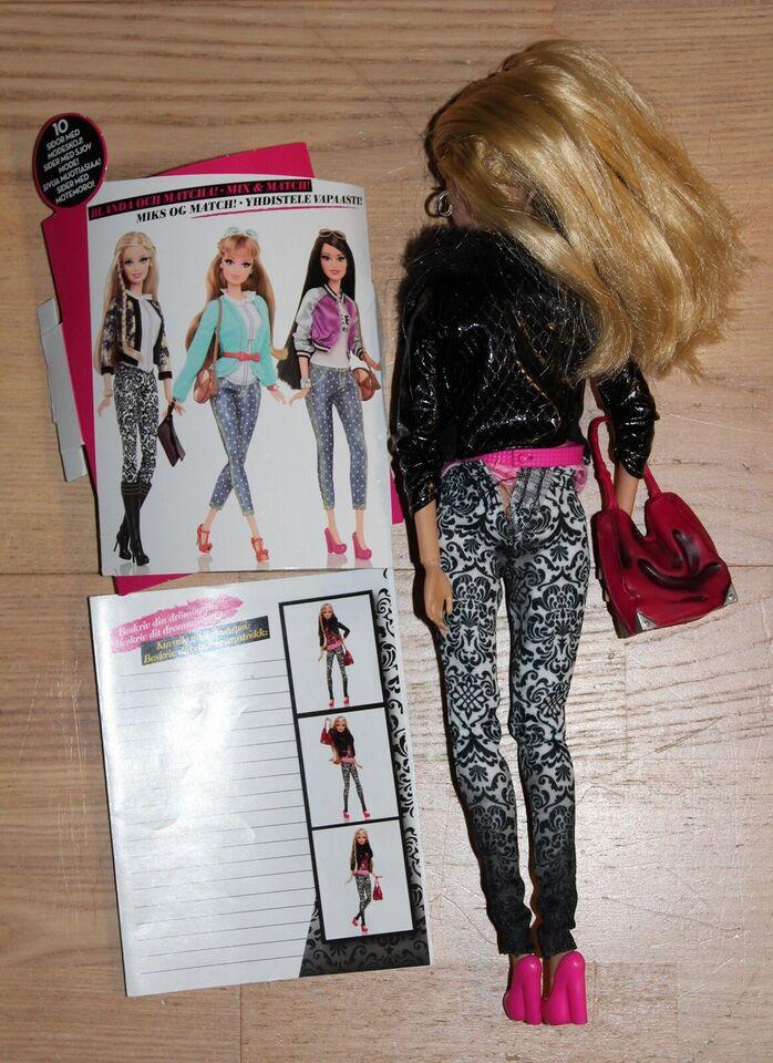 Barbie, Dukke med øjenvipper