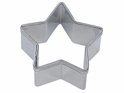 Mini STAR Tin Plated Steel COOKIE CUTTER NEW
