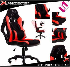 silla gaming con bloqueo de ruedas