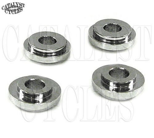 Solid Handlebar Mounts for Harley Solid Riser Mounting Adapters Kit 1973-2015