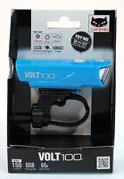 Cateye Volt 100 Bicycle Front Light, Usb Rechargeable - Hl-el150rc - Blue