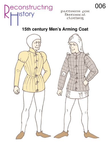 Schnittmuster RH 006 Paper pattern 15th Century Burgundian Arming Coat