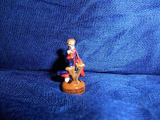 """HARRY POTTER in ROBE Wand LETTER """"Y"""" ABC Figurine FRENCH Porcelain FEVES Figure"""