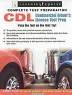 Commercial Driver's License Exam: The Complete Preparation Guide by C Rudy Fox, Tina Frindt (Mixed media product)