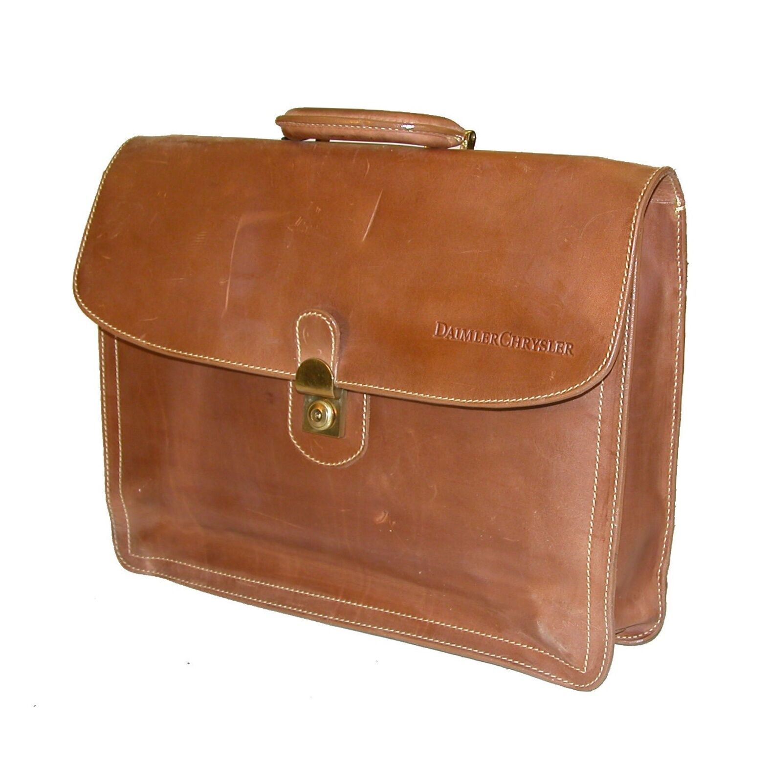 Mulholland Holland Brossohers 4 Dai er Chrysler 16 All Leather Lawyer Briefcase