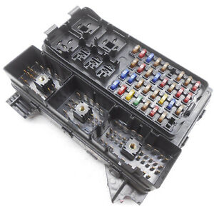 oem ford taurus mercury sable cabin fuse box less relays and cover rh ebay com ve commodore cabin fuse box evo x cabin fuse box